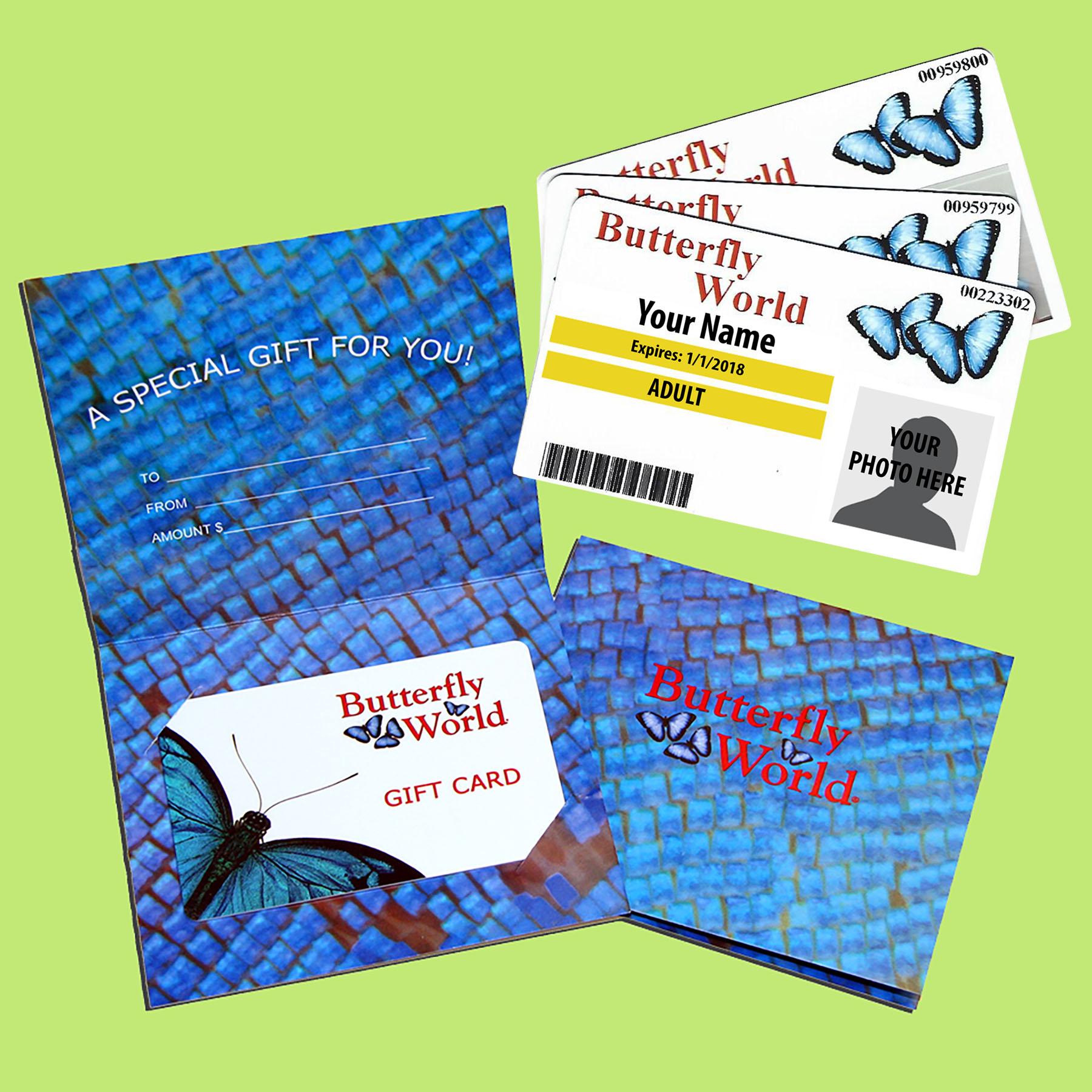 Annual Membership & Gift Cards